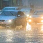 Flash Flood Watch and Red Flag Warnings in the West, Snow for the North